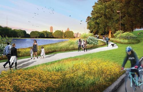 [Rendering: Atlanta Waterworks Park/Facebook]